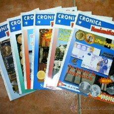 Catálogos y Libros de Monedas: REVISTAS CRÓNICA NUMISMÁTICA. Lote 28049799