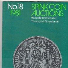 Catálogos y Libros de Monedas: CATALOGO DE MONEDAS SPINK. AÑO 1981. . Lote 28121912