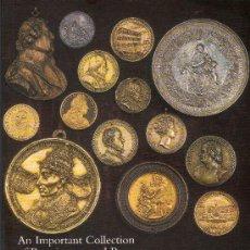 Catálogos y Libros de Monedas - CATALOGO DE MONEDAS SPINK. IMPORTANTE COLECCION DE MONEDAS Y PLACAS DEL RENACIMIENTO Y BARROCAS. - 28148226