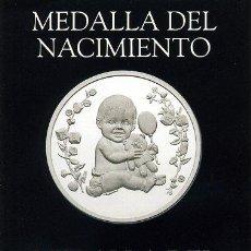 Catálogos y Libros de Monedas: FOLLETO NUMISMATICA IBERICA - MEDALLA NACIMIENTO / BAUTISMO - INFANCIA RELIGION MUJER. Lote 28136612