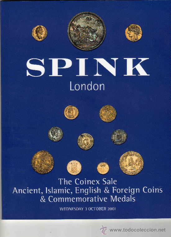 CATALOGO DE MONEDAS SPINK. AÑO 2001. (Numismática - Catálogos y Libros)