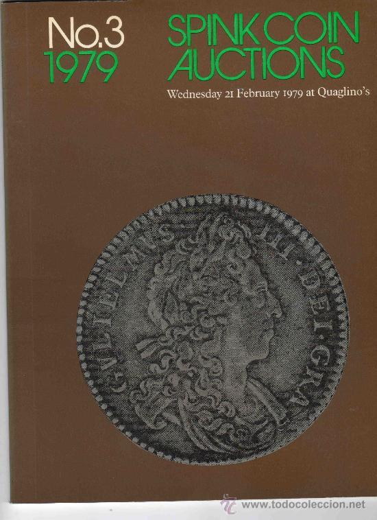 CATALOGO DE MONEDAS SPINK. AÑO 1979. (Numismática - Catálogos y Libros)