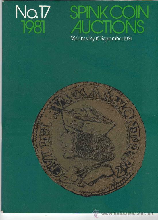 CATALOGO DE MONEDAS SPINK. AÑO 1981. (Numismática - Catálogos y Libros)