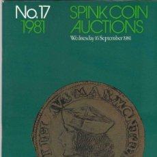 Catálogos y Libros de Monedas: CATALOGO DE MONEDAS SPINK. AÑO 1981.. Lote 28149969