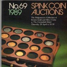 Catálogos y Libros de Monedas: CATALOGO DE MONEDAS SPINK. AÑO 1989.. Lote 28149988