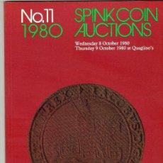 Catálogos y Libros de Monedas: CATALOGO DE MONEDAS SPINK. AÑO 1980. . Lote 28150417