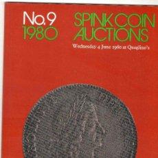 Catálogos y Libros de Monedas: CATALOGO DE MONEDAS SPINK. AÑO 1980.. Lote 28158141