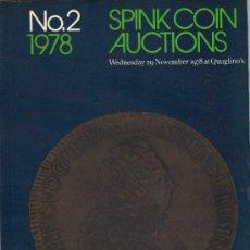 Catálogos y Libros de Monedas: CATALOGO DE MONEDAS SPINK. AÑO 1978. . Lote 28160514