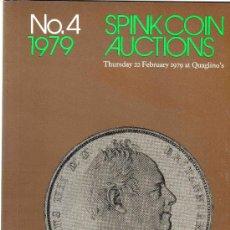 Catálogos y Libros de Monedas: CATALOGO DE MONEDAS SPINK. AÑO 1979. . Lote 28160518