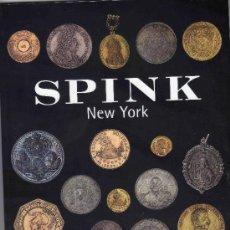 Catálogos y Libros de Monedas: CATALOGO DE MONEDAS SPINK NUEVA YORK. AÑO 2001. . Lote 28160754
