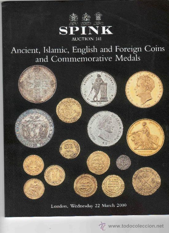 CATALOGO DE MONEDAS SPINK. AÑO 2000. (Numismática - Catálogos y Libros)