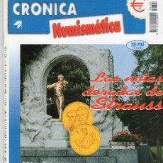 Catálogos y Libros de Monedas: REVISTA CRONICA NUMISMATICA. AÑO 1999. NUMERO 104.. Lote 28268565