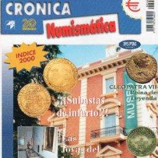 Catálogos y Libros de Monedas: REVISTA CRONICA NUMISMATICA. AÑO 2001. NUMERO 122.. Lote 28268707