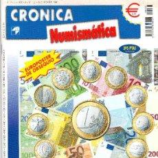 Catálogos y Libros de Monedas: REVISTA CRONICA NUMISMATICA. AÑO 2001. NUMERO 132.. Lote 28268749