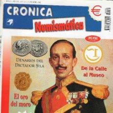 Catálogos y Libros de Monedas: REVISTA CRONICA NUMISMATICA. AÑO 2002. NUMERO 134.. Lote 28269340