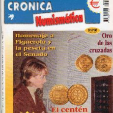 Catálogos y Libros de Monedas: REVISTA CRONICA NUMISMATICA. AÑO 2002. NUMERO 133.. Lote 28269407