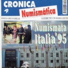 Catálogos y Libros de Monedas: REVISTA CRONICA NUMISMATICA. AÑO 1995. NUMERO 64.. Lote 28269455