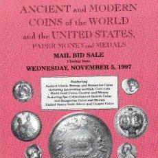 Catálogos y Libros de Monedas: CATALOGO DE MONEDAS COIN GALLERIES. AÑO 1997. LISTA DE PRECIOS REALIZADOS. . Lote 28351706