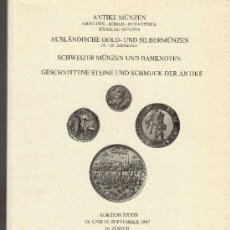 Catálogos y Libros de Monedas: CATALOGO DE MONEDAS FRANK STERNBERG. AÑO 1997. LISTA DE PRECIOS REALIZADOS. . Lote 28353530