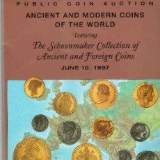 Catálogos y Libros de Monedas: CATALOGO DE MONEDAS SUBASTA PUBLICA STACK´S. AÑO 1997. PRECIOS REALIZADOS. . Lote 28400427