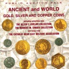 Catálogos y Libros de Monedas: CATALOGO DE MONEDAS SUBASTA PUBLICA STACK´S. AÑO 1997. PRECIOS REALIZADOS. . Lote 28400445