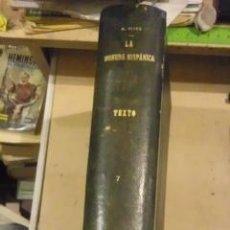 Catálogos y Libros de Monedas: ANTONIO VIVES ESCUDERO: LA MONEDA HISPÁNICA. TEXTO (MADRID, 1924-1926) CUATRO TOMOS EN UN VOLUMEN. Lote 29755561