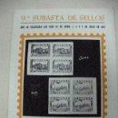 Catálogos y Libros de Monedas: ANTIGUO CATALOGO SUBASTA DE SELLOS FILATELIA GARCIA (CE12). Lote 29838933