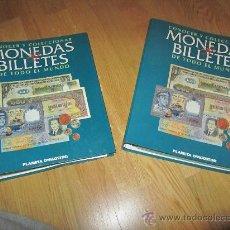 Catálogos y Libros de Monedas: MONEDAS Y BILLETES DE TODO EL MUNDO. Lote 30580953