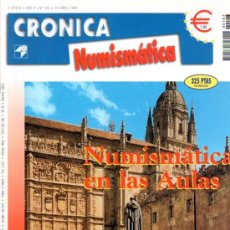 Catálogos y Libros de Monedas: CRÓNICA NUMISMÁTICA, II ÉPOCA, AÑO X, Nº 103, 1999, 50 PÁGINAS, 21 POR 28CM. Lote 31078104