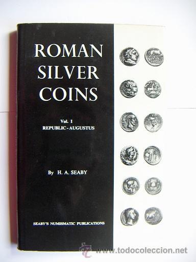 ROMAN SILVER COINS SEABY VOL.1 (Numismática - Catálogos y Libros)