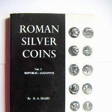 Catálogos y Libros de Monedas: ROMAN SILVER COINS SEABY VOL.1. Lote 31656712