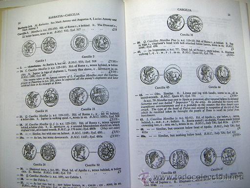 Catálogos y Libros de Monedas: Roman Silver Coins Seaby vol.1 - Foto 3 - 31656712