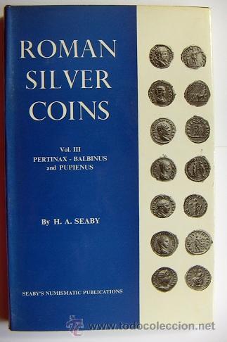 ROMAN SILVER COINS SEABY VOL.3 (Numismática - Catálogos y Libros)