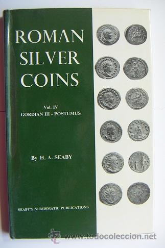 ROMAN SILVER COINS SEABY VOL.4 (Numismática - Catálogos y Libros)