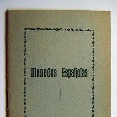 Catálogos y Libros de Monedas: MONEDAS ESPAÑOLAS 1868-1931. Lote 31656899