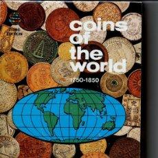 Catálogos y Libros de Monedas: COINS OF THE WORLD 1750-1850, W.D. CRAIG. Lote 180102200