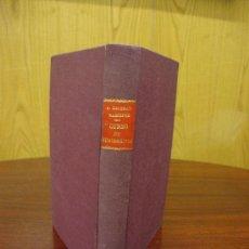 Catálogos y Libros de Monedas: CURSO DE NUMISMÁTICA 1950 A. BELTRÁN MARTÍNEZ. Lote 32169119