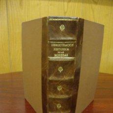 Catálogos y Libros de Monedas: DEMOSTRACIÓN HISTÓRICA DEL VALOR DE LAS MONEDAS 1805 . Lote 32169146