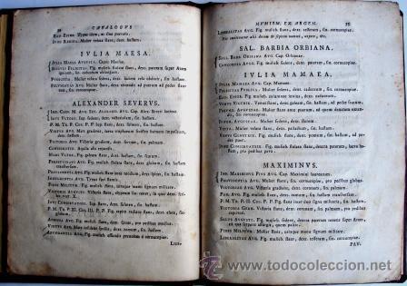 Catálogos y Libros de Monedas: ANTIGUO CATALOGO DE MONEDAS ROMANAS: NUMISMATUM IMPERATORUM ROMANORUM - AÑO 1747 - Foto 5 - 26344719