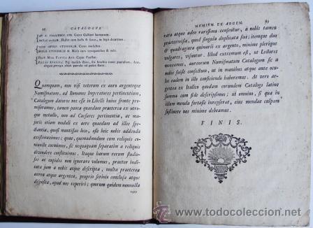 Catálogos y Libros de Monedas: ANTIGUO CATALOGO DE MONEDAS ROMANAS: NUMISMATUM IMPERATORUM ROMANORUM - AÑO 1747 - Foto 7 - 26344719