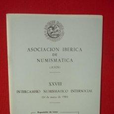 Catálogos y Libros de Monedas: CATALOGO ASOCIACION IBERICA DE NUMISMATICA--FOTOGRAFIAS DE MONEDAS ANTIGUAS AÑO 1986. Lote 32697629