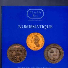 Catálogos y Libros de Monedas: CATALOGO MONEDAS, MEDALLAS, INSIGNIAS... PIASA, PARIS. BOURGEY. 1997. VER DESCRIPCION.. Lote 33381083