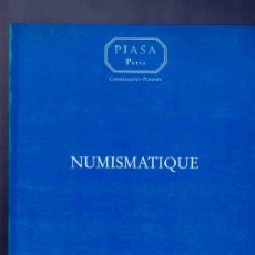 Catálogos y Libros de Monedas: CATALOGO MONEDAS GRIEGAS, ROMANAS, BIZANTINAS, BILLETES.. NUMISMATICA. PIASA, PARIS. BOURGEY. 1998. . Lote 33381156