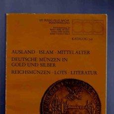 Catálogos y Libros de Monedas: CATALOGO DE MONEDAS. EXTRANJERAS, ISLAMICAS, MEDIEVALES, MODERNAS... 341. DR. BUSSO. 1994.. Lote 33382687