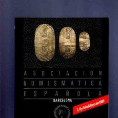Catálogos y Libros de Monedas: CATALOGO MONEDAS, MEDALLAS, REVISTAS, CATALOGOS... ASOCIACION NUMISMATICA ESPAÑOLA. CALICO. 1991. . Lote 33397468