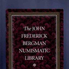Catálogos y Libros de Monedas: THE JOHN FREDERICK BERGMAN NUMISMATIC LIBRARY. PART 1. KOLBE. SELECTIONS. 2001.. Lote 33410677