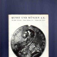 Catálogos y Libros de Monedas - CATALOGO MONEDAS, MEDALLAS. KUNST UND MUNZEN A.G. LISTINO N. 62. 1988. - 33410989