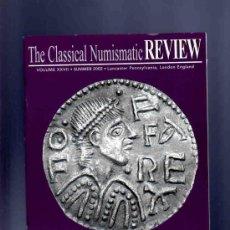 Catálogos y Libros de Monedas: THE CLASSICAL NUMISMATIC REVIEW. CLASSICAL NUMISMATIC GROUP. NUMISMATICA. SUMMER 2002.. Lote 33428444