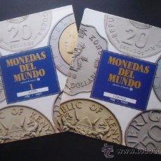 Catálogos y Libros de Monedas: MONEDAS DEL MUNDO. FASCÍCULOS 1 Y 2. JAPÓN / LITUANIA. EDITORIAL ORBIS FABBRI.. Lote 33810778