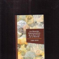 Catálogos y Libros de Monedas: LAS MONEDAS CONMEMORATIVAS DE LA REAL CASA DE LA MONEDA, 1989-2010. Lote 33939032